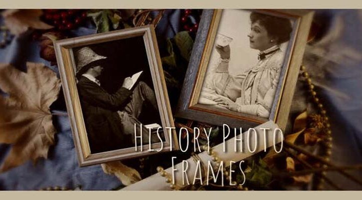 History Photo Frames Cinematic Opener Videohive 32443680