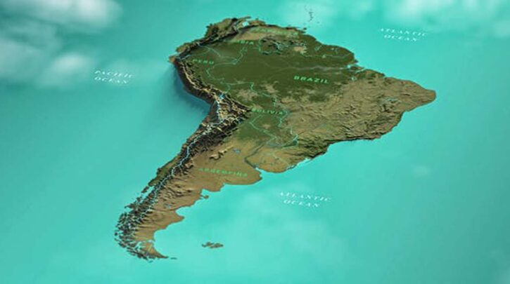 South America Map FC Videohive 32354726