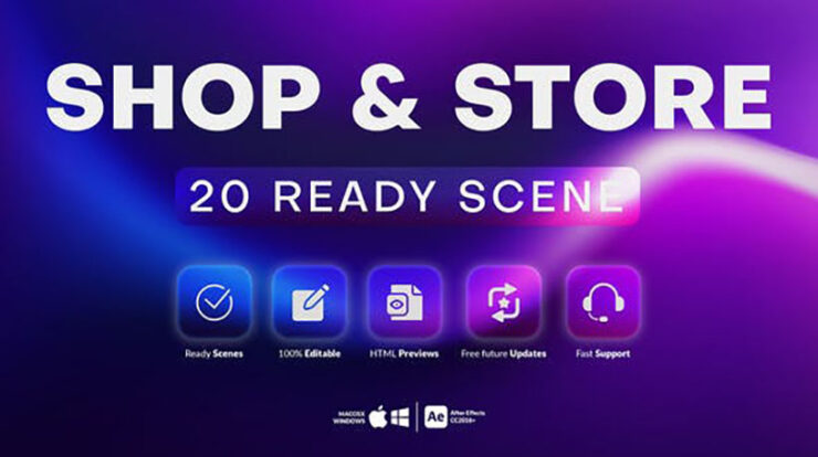 20 Shop and Store Scenes