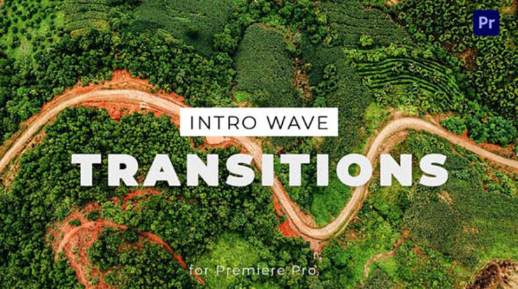 Intro Wave Transitions for Premiere Pro