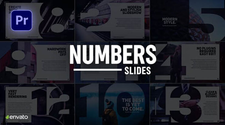 Numbers Slideshow for Premiere Pro