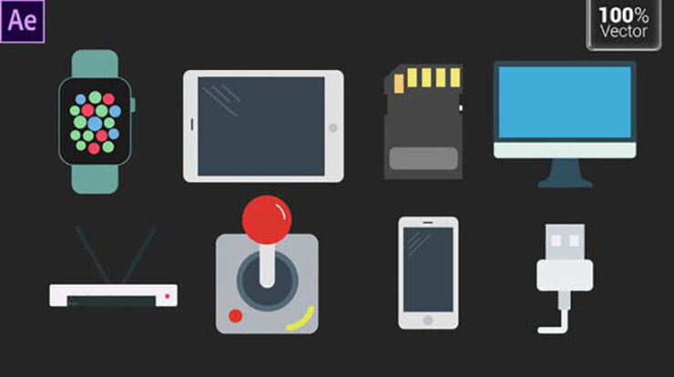 Tech Animated Icons